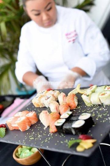 Menu sushi omakase