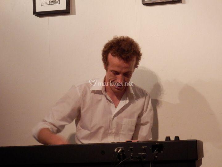 Le pianiste en action