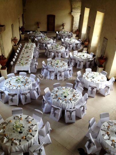 D coration salle mariage de thomas evenementiel for Decoration florale evenementiel