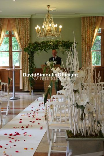 Dans l'attente des mariés