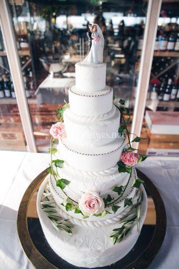 Le wedding cake