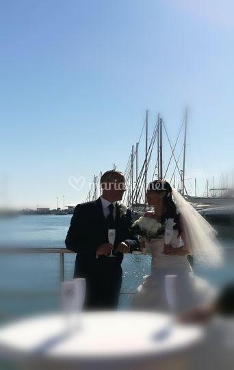 Mariage vue mer