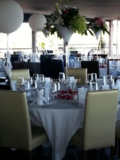 Mariage assis yacht club