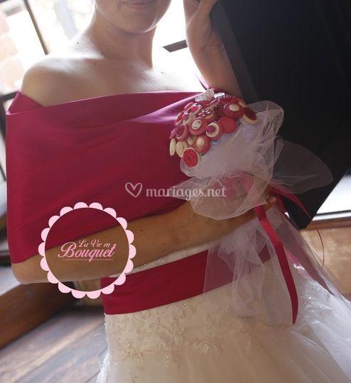 Bouquet boutons romantique