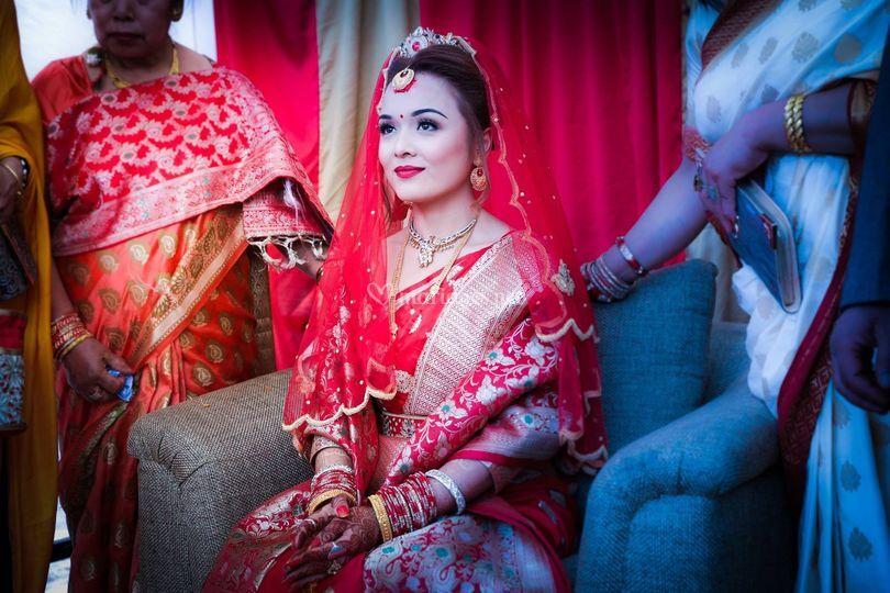 Akansha's wedding in Nepal