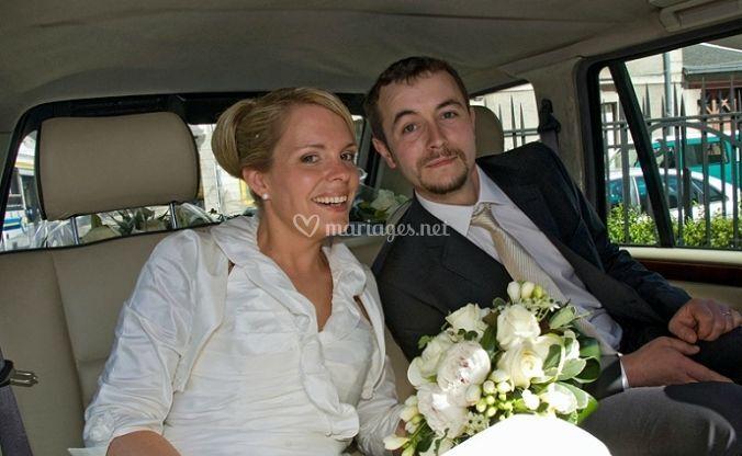 Transport des mariés