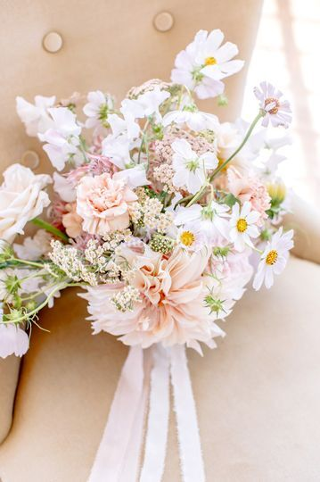 Bouquet de mariée * fleurs