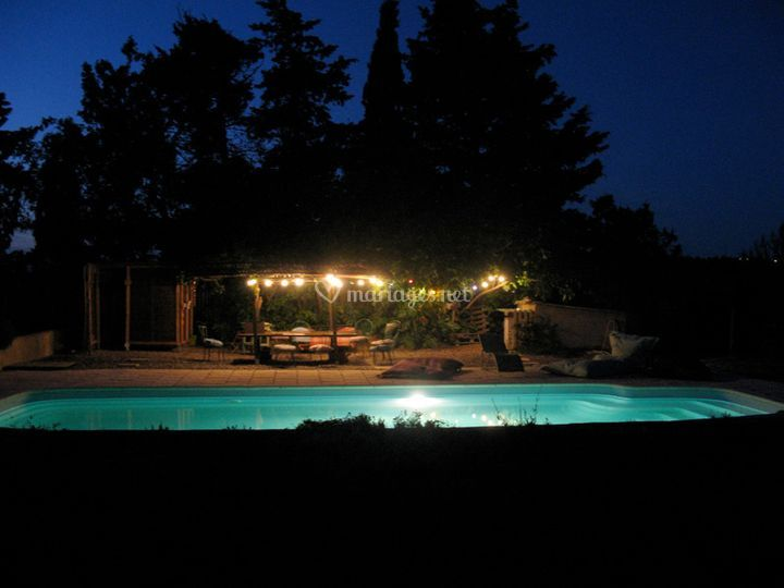 Nuit à la Piscine