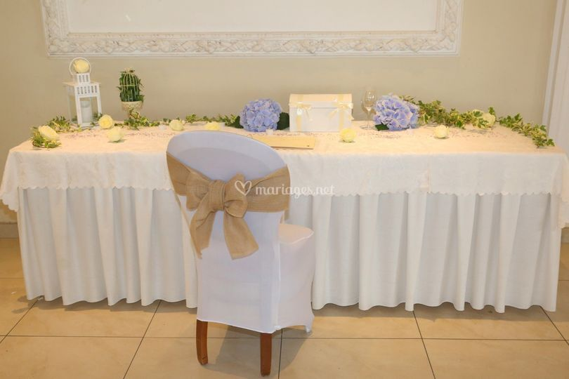 Table des cadeaux