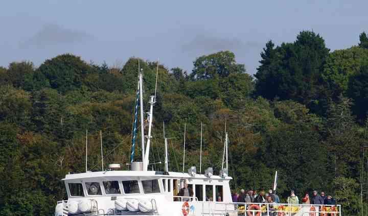 L'Aigrette, bateau restaurant