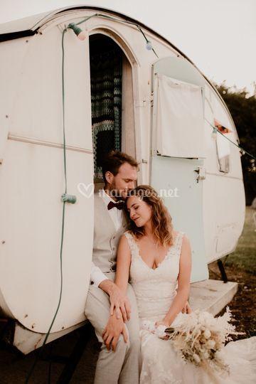 Séance couple caravane