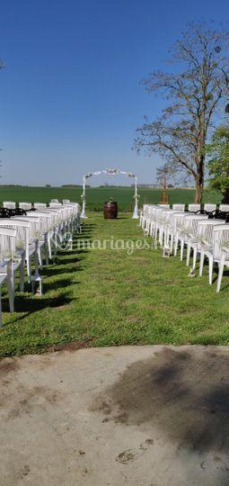 Décoration ceremonie