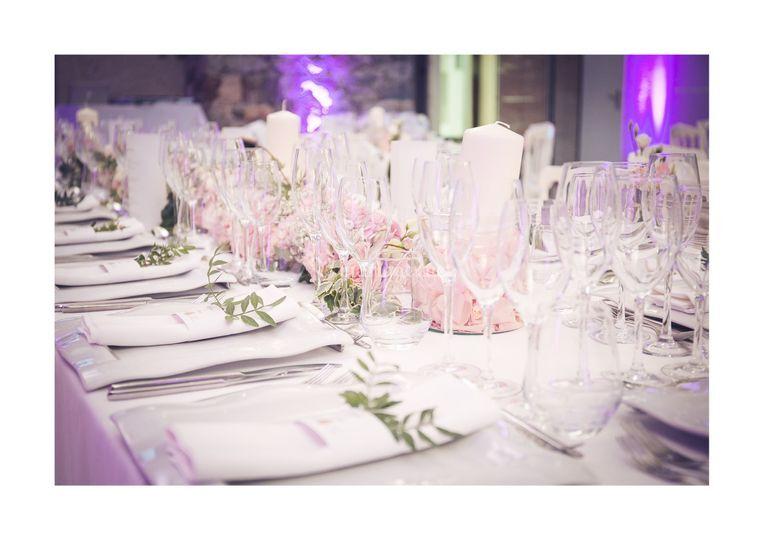 Table romantique mariage