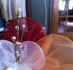 Tutoriel fleurs en organza