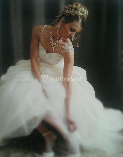 Une jolie mariée...