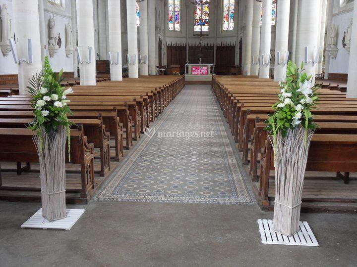 Pièce d'accueil Eglise