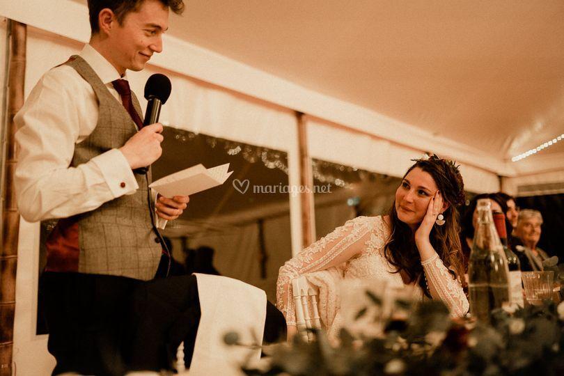 Discours marié