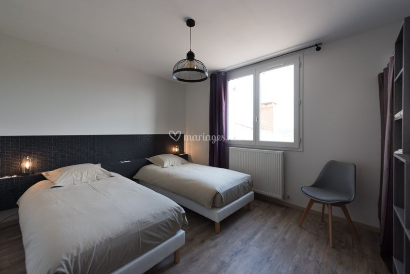 Chambre 2 - Appartement