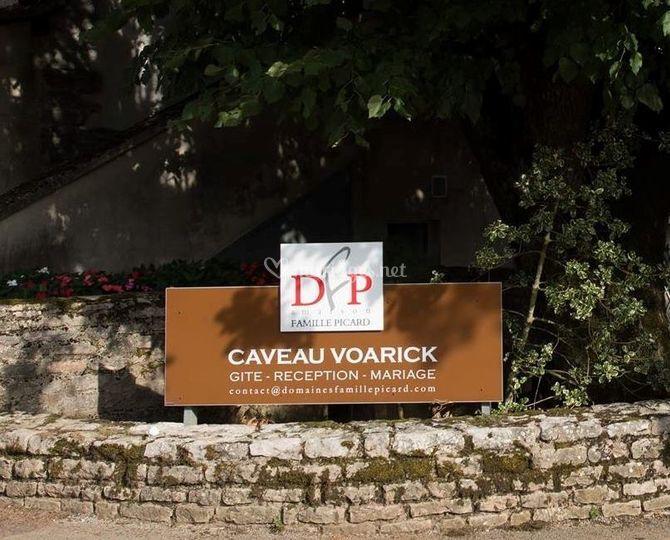 Caveau Voarick - Extérieur