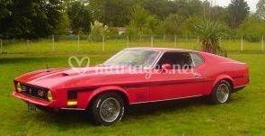Américaine Mustang mach 1 de 1971