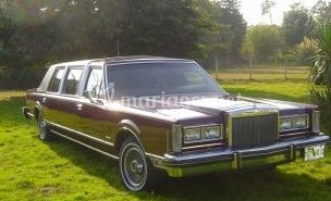 Limousine Ford lincoln 1982