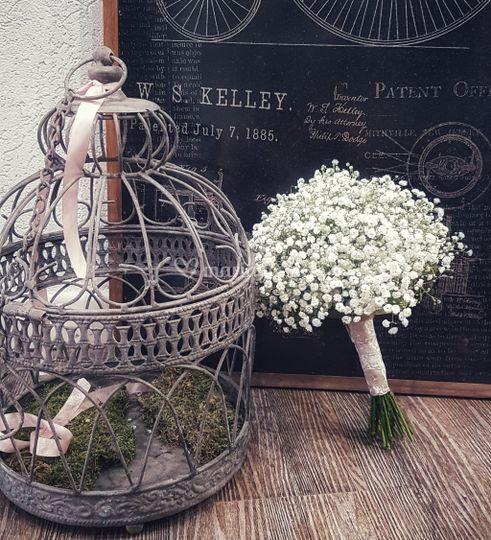 Bouquet de mariée Gypso