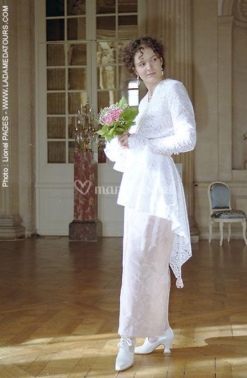 Robe Belle Epoque Guipure