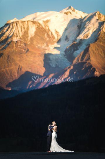 Mariage Love Mont Blanc