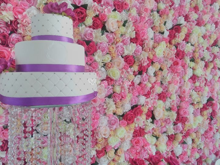 Mur florale