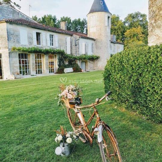 Vélo fleuris tendance