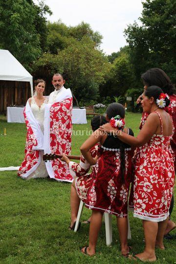 Cérémonie Polynésienne