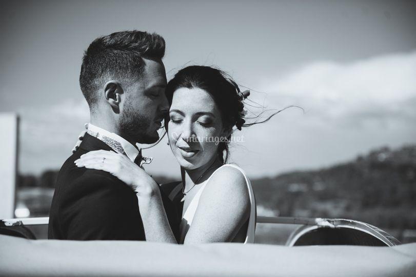 Mariage éthique noir et blanc
