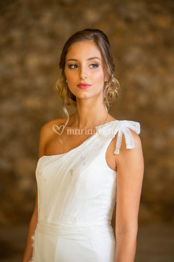 Maquillage chic mariée glamour