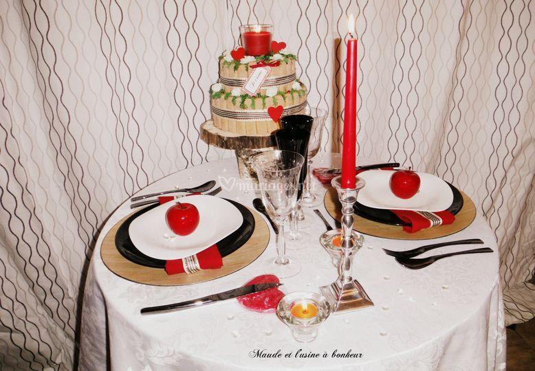 Table Chic et Romantique