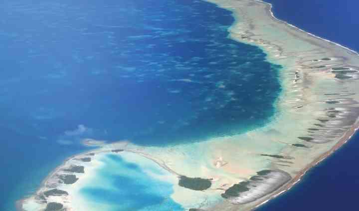 Rangiroa en Polynésie