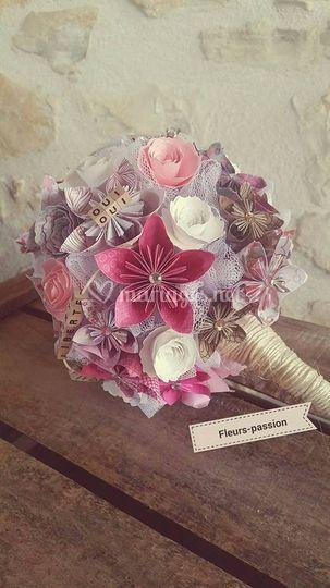 Fleurs-Passion Origami
