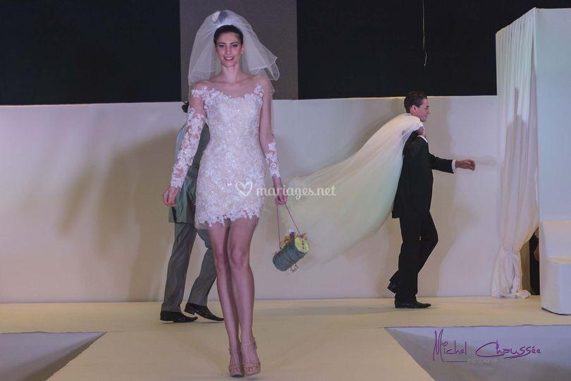 Kiss robe de mariée 2 en 1