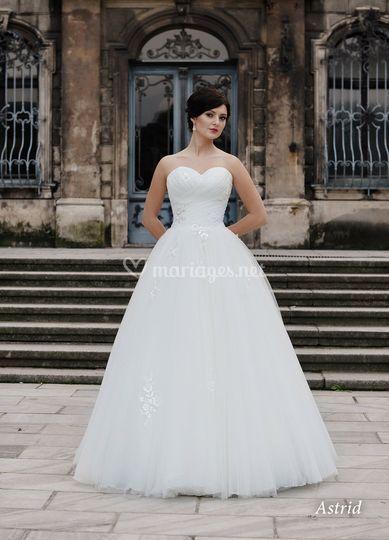Astrid robe de mariée