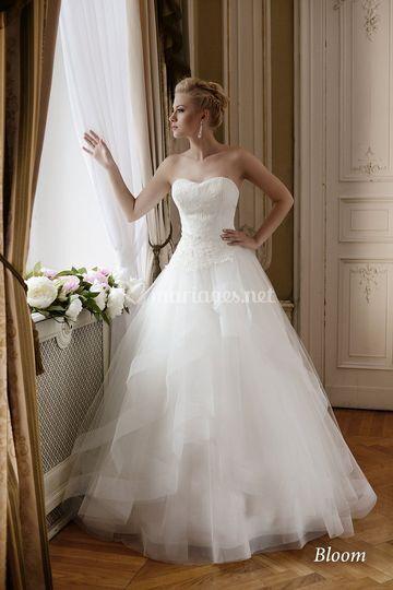 Bloom robe de mariée