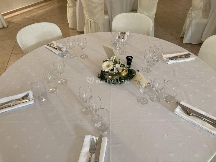 Mariage salle décoration