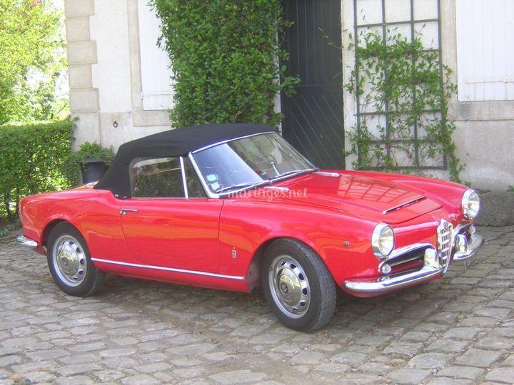 Alfa Spider 1600. 1964