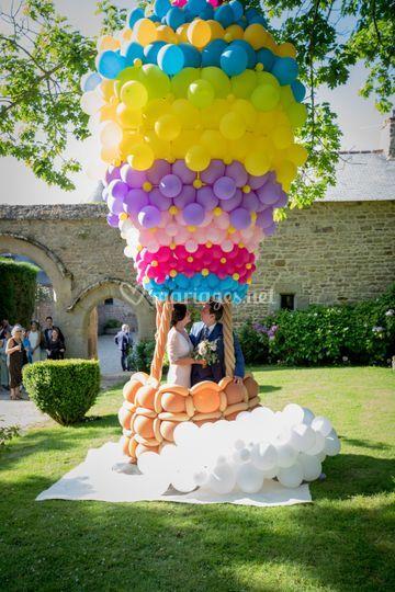 Photocall montgolfière