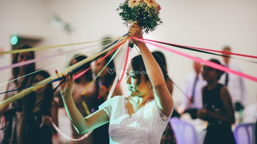 Lancer de bouquet