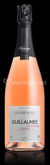 Champagne Rosé Guillaumée