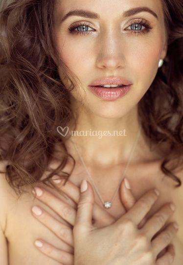 Amandine Poisson Makeup