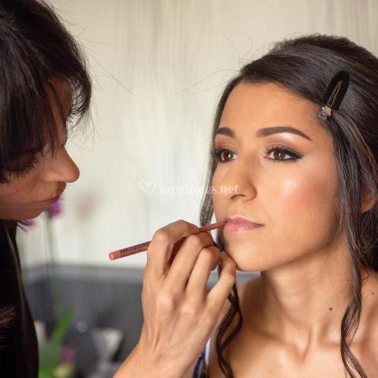 Myriam - maquillage