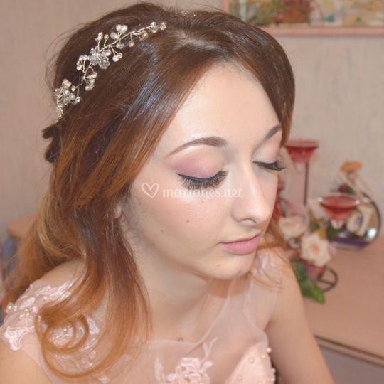Coiffure et maquillage invitée. Laëtitia Toledano - Hair & Makeup Artist