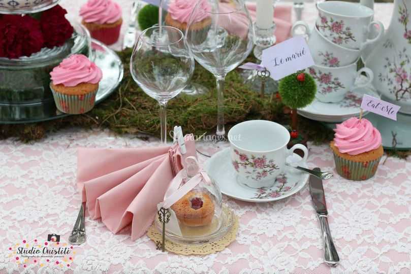 Ambiance Tea Time d'Alice