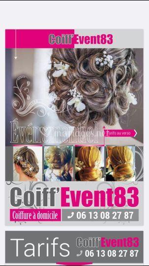 Coiff'Event 83