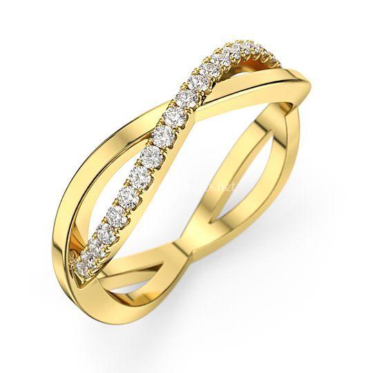 Alliance diamant Alyssa